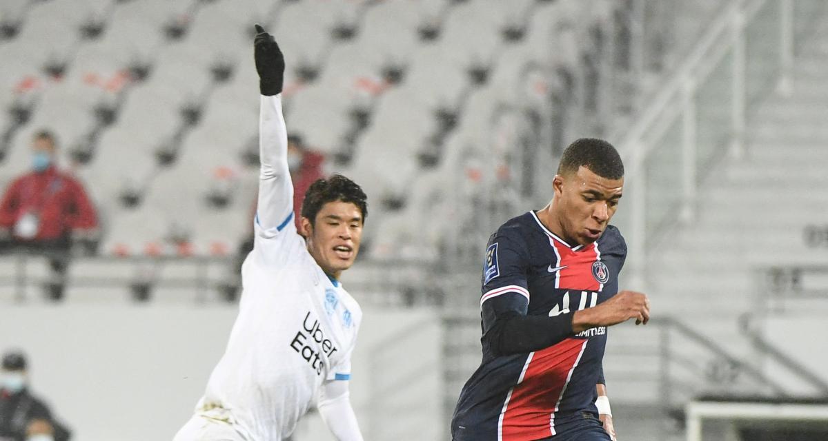 Trophée des Champions: PSG 1–0 OM (mi-temps)