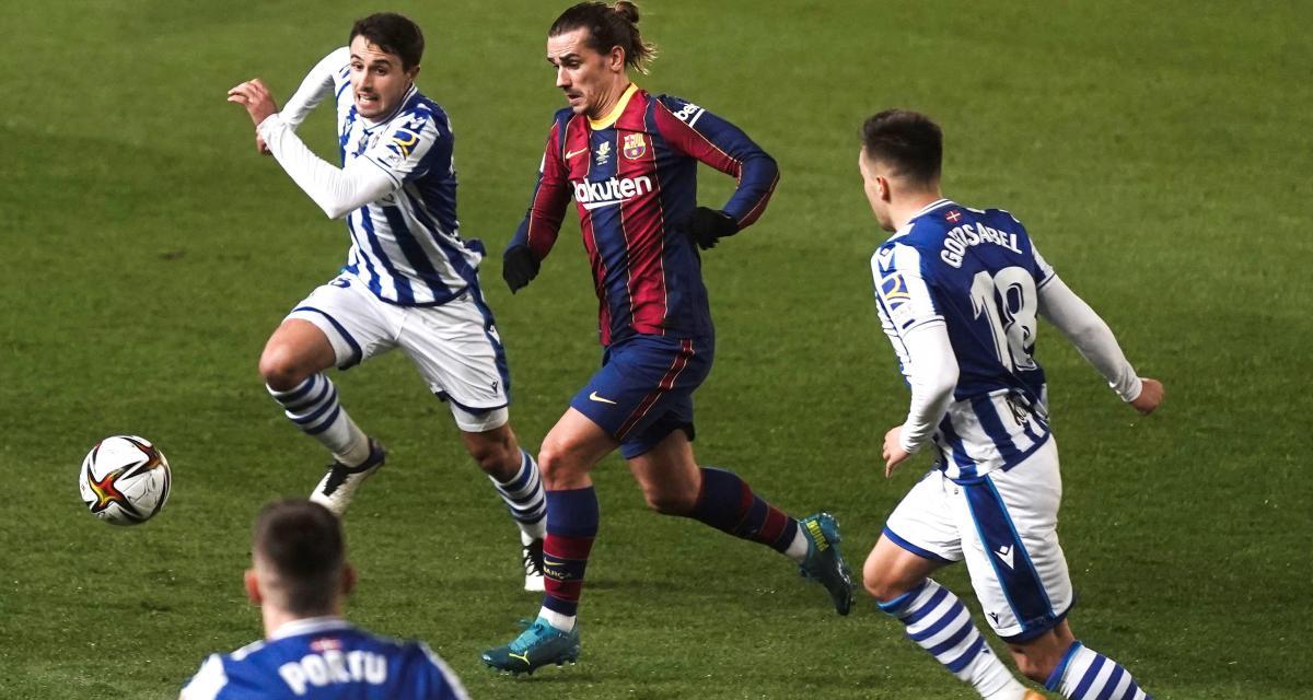 Supercoupe d'Espagne : Real Sociedad 1-1 FC Barcelone (prolongations)