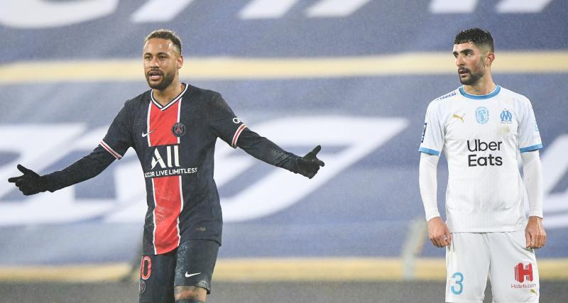 PSG - OM (2-1) : Neymar chambre, Alvaro le fracasse