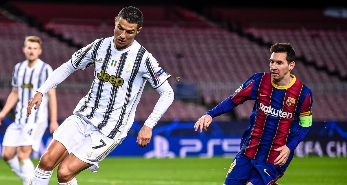 Juventus : le FC Barcelone et Lionel Messi sèment le chaos chez Cristiano Ronaldo