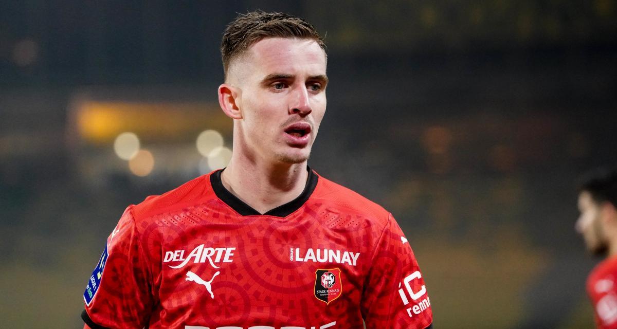 Résultat Ligue 1 : Stade Brestois 1-1 Stade Rennais (mi-temps)