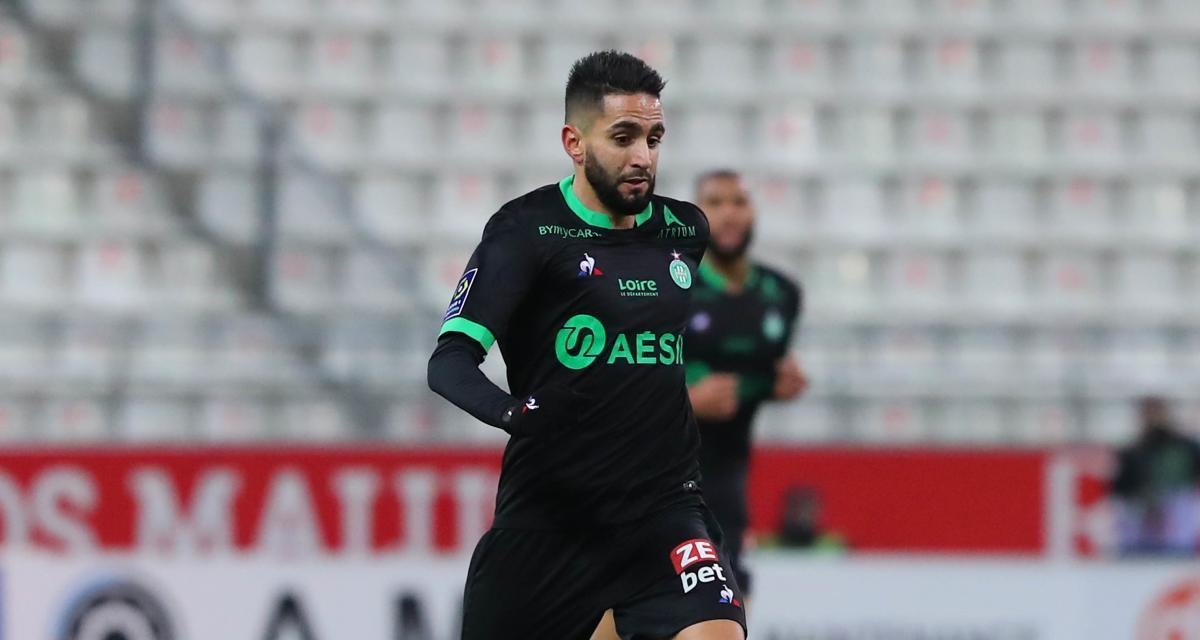 Résultats Ligue 1 : l'ASSE et le RC Lens inefficaces, Strasbourg et le FC Nantes en profitent (mi-temps)