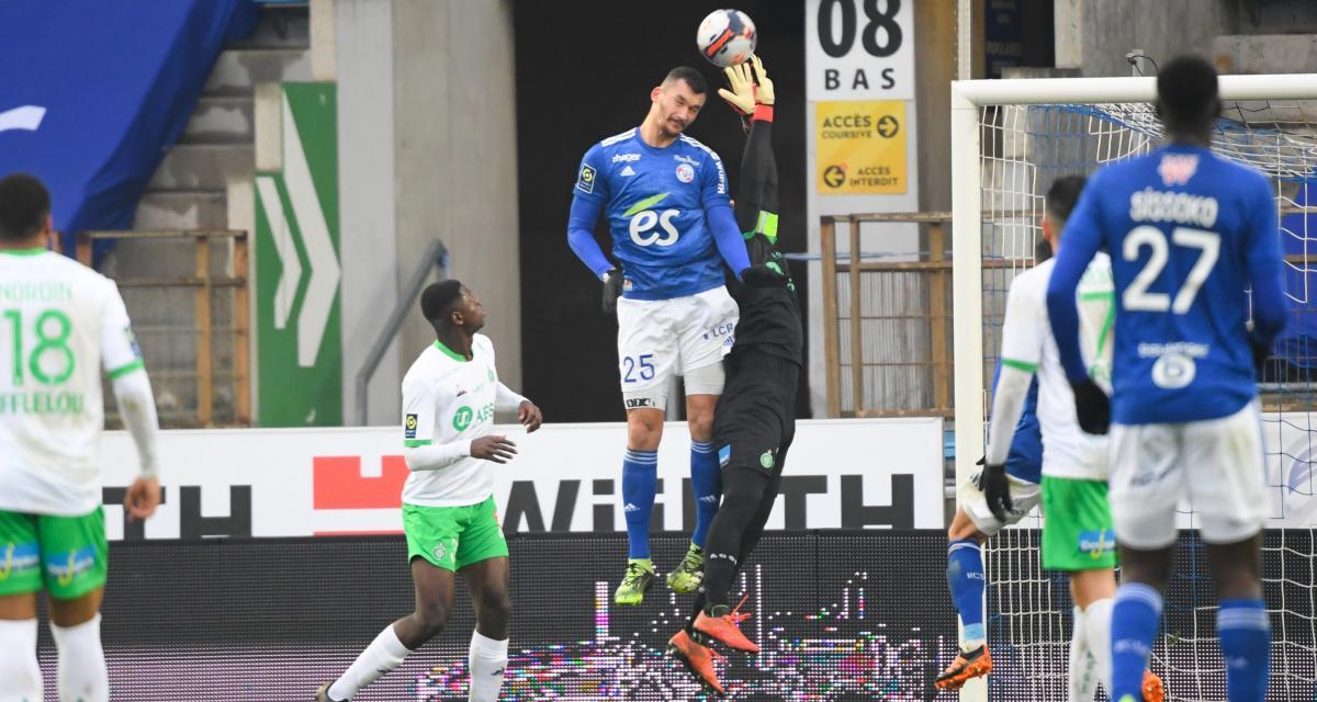 RC Strasbourg - ASSE (1-0) : Jessy Moulin pousse un coup de gueule contre l'arbitrage