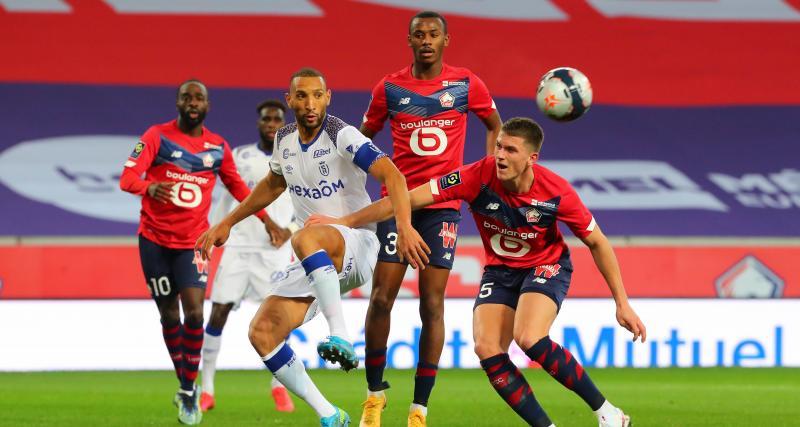 Résultat Ligue 1 : LOSC 0 - 1 Stade de Reims (mi-temps)