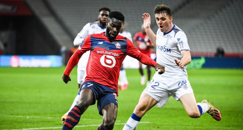 Résultat Ligue 1: le LOSC arrache un succès capital face au Stade de Reims (2-1)