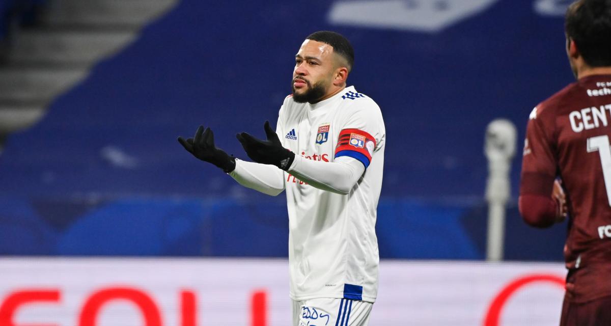 OL - FC Metz (0-1) : Paqueta en panne, Depay impuissant… Les notes des Lyonnais