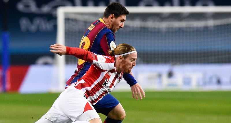 Supercoupe d'Espagne : FC Barcelone 2 - 3 Athletic Bilbao (a.p. terminé)