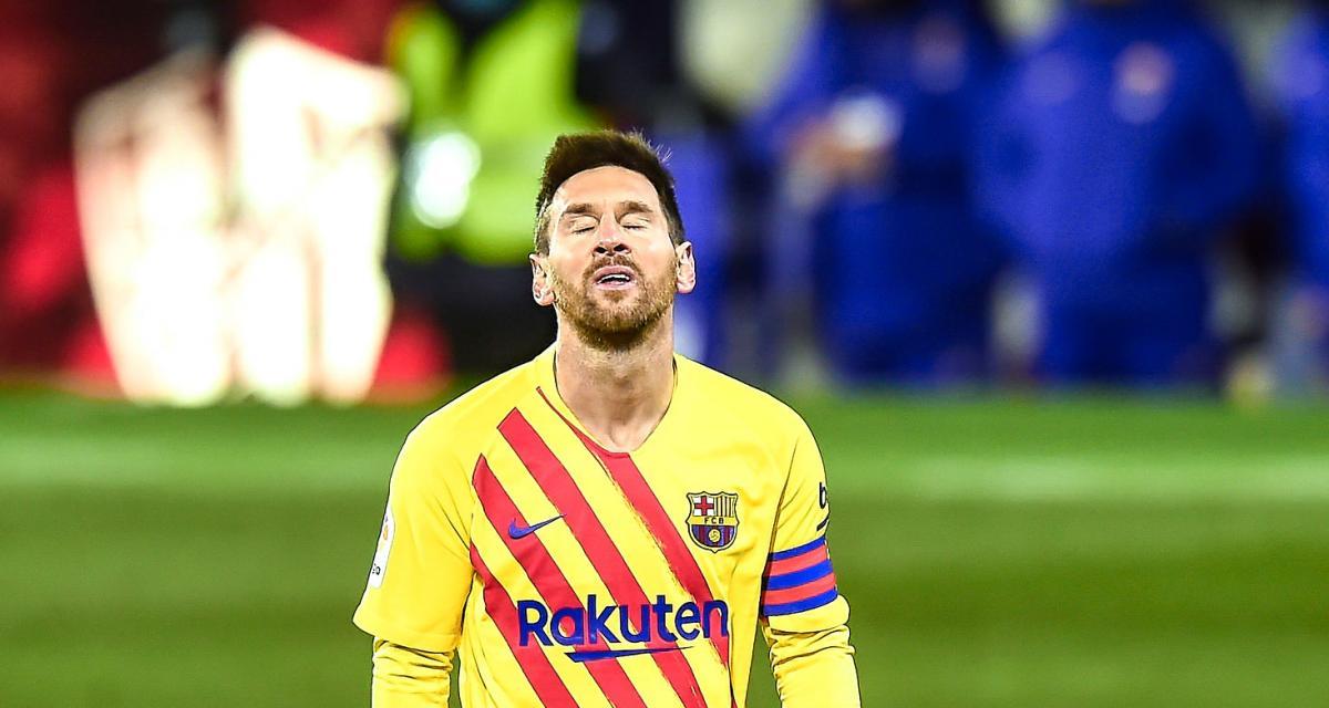 FC Barcelone - Athletic Bilbao (2-3, a.p) : le très vilain geste de Lionel Messi qui lui a valu une expulsion (vidéo)