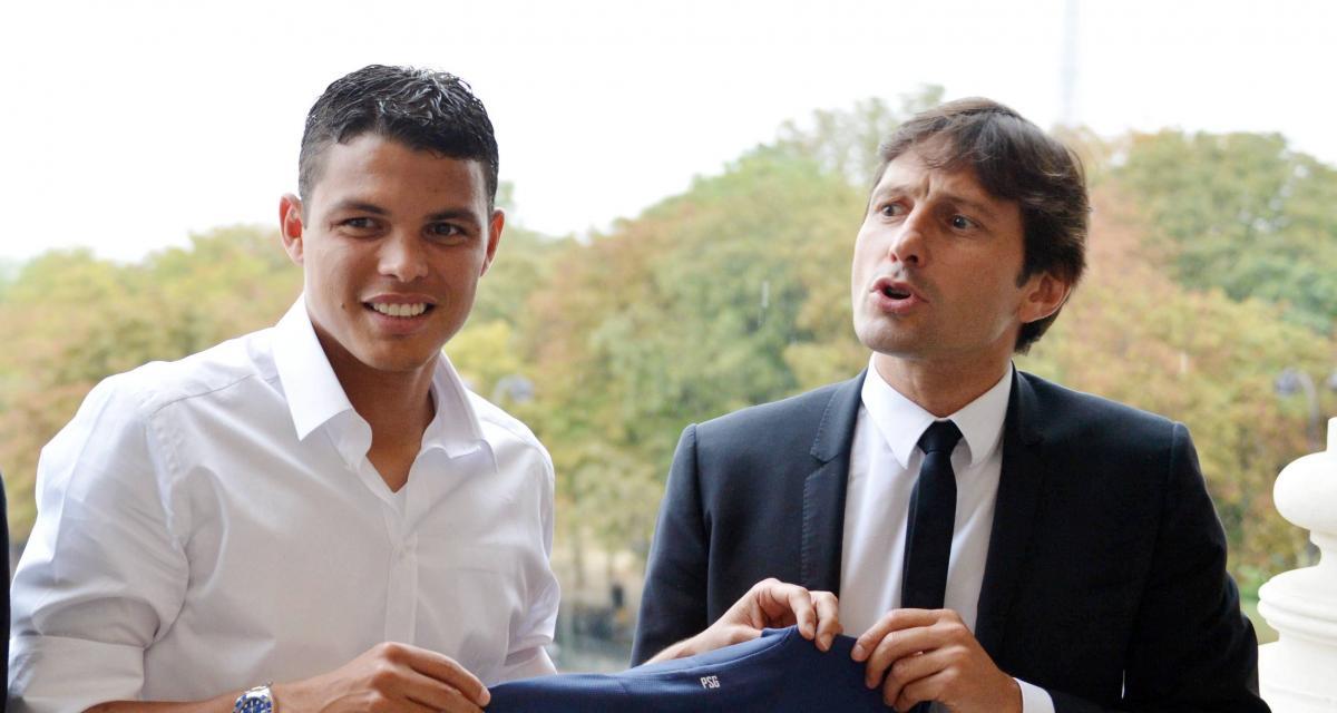 PSG : la réponse grinçante de Leonardo à Thiago Silva