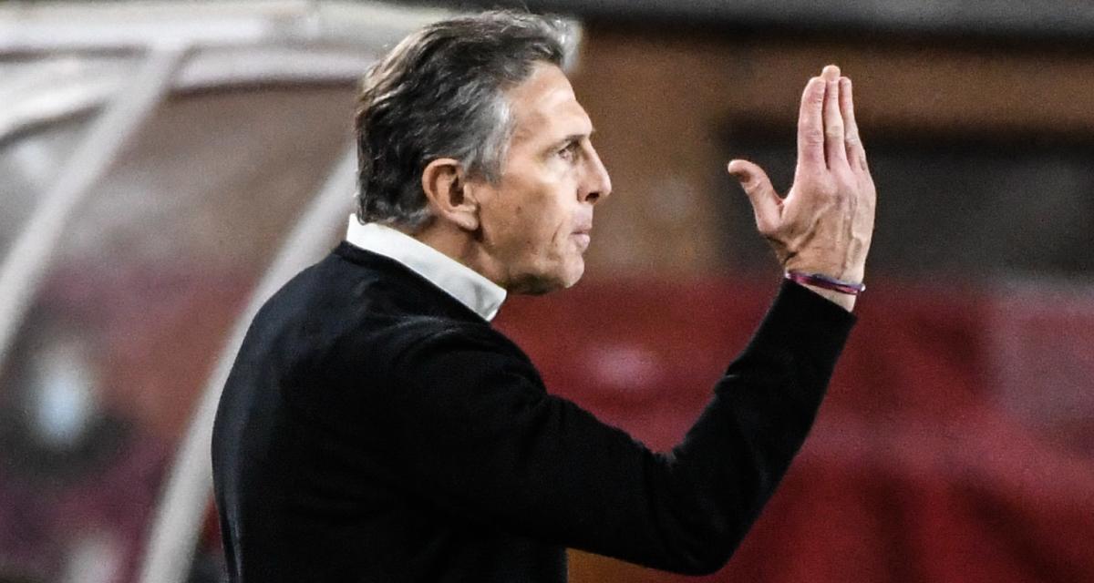 ASSE - OL : le discours musclé de Claude Puel avant le derby