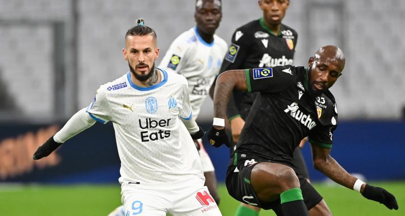 Résultat Ligue 1 : OM 0-0 RC Lens (mi-temps)