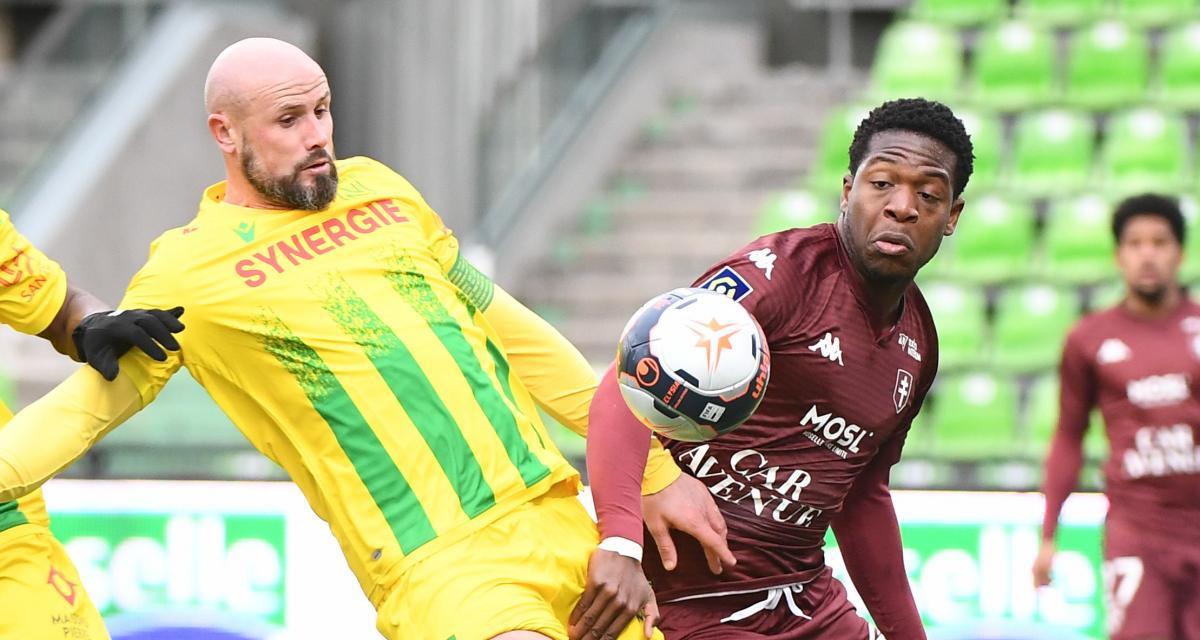 Résultats L1 : FC Nantes, Stade de Reims, RC Strasbourg, les scores à la mi-temps
