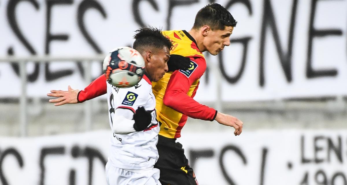 Résultat Ligue 1 : RC Lens 0 - 0 OGC Nice (mi-temps)