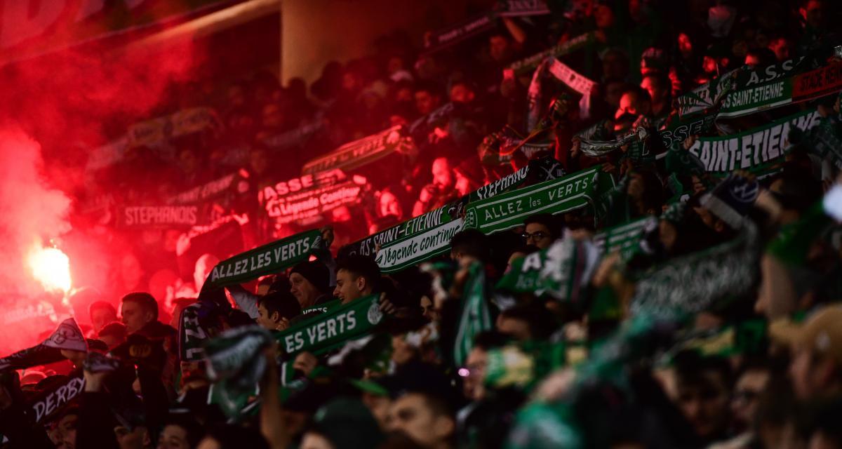 ASSE - OL : les MF91 ont encouragé les Verts à l'Étrat