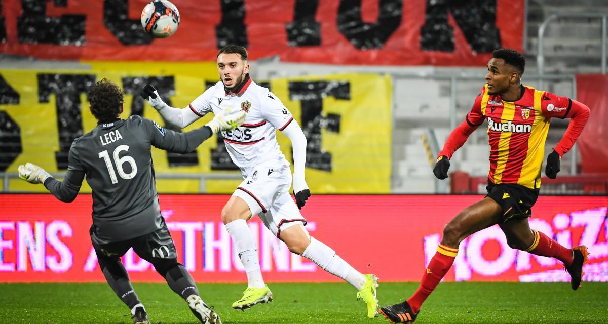 Résultat Ligue 1 : RC Lens 0 - 1 OGC Nice (terminé)