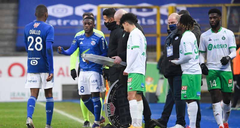 RC Strasbourg, FC Nantes : altercation entre Waris et Laurey !