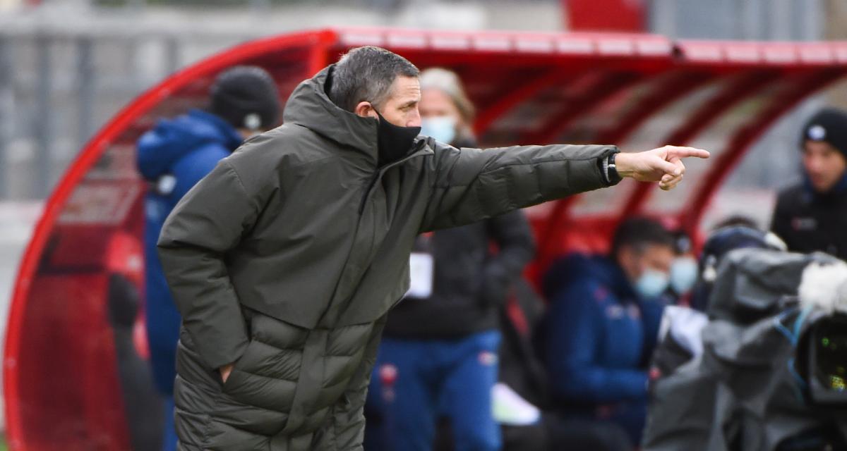 Dijon – RC Strasbourg (1-1) : le recadrage de Laurey qui a tout changé à la mi-temps