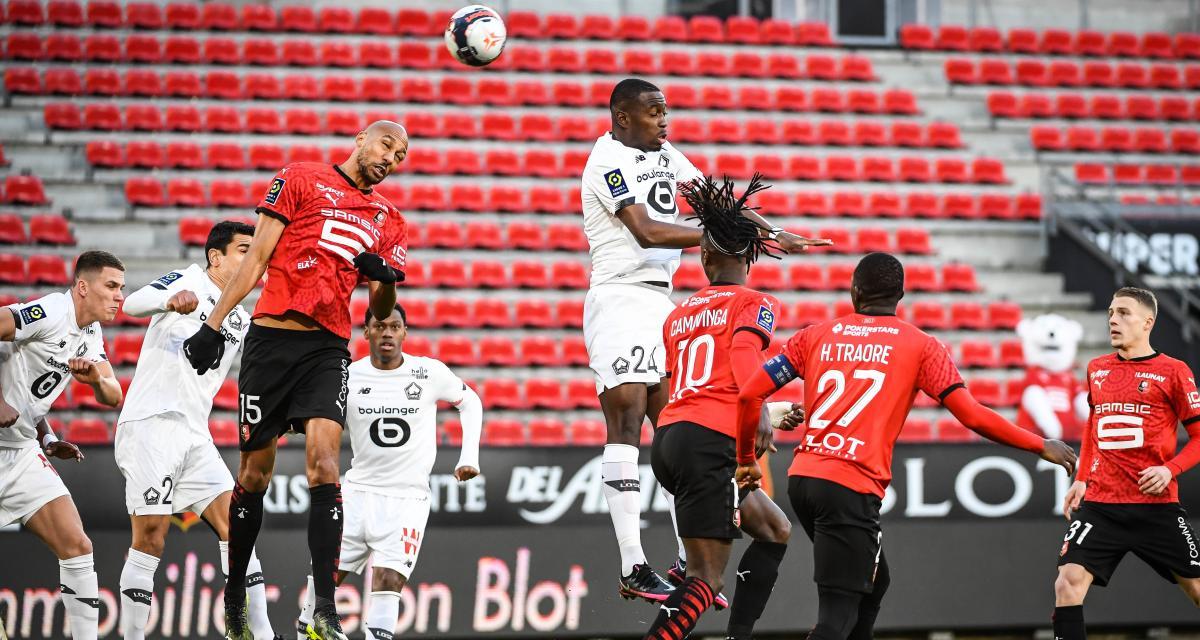 Résultat Ligue 1 : Stade Rennais 0-1 LOSC (terminé)