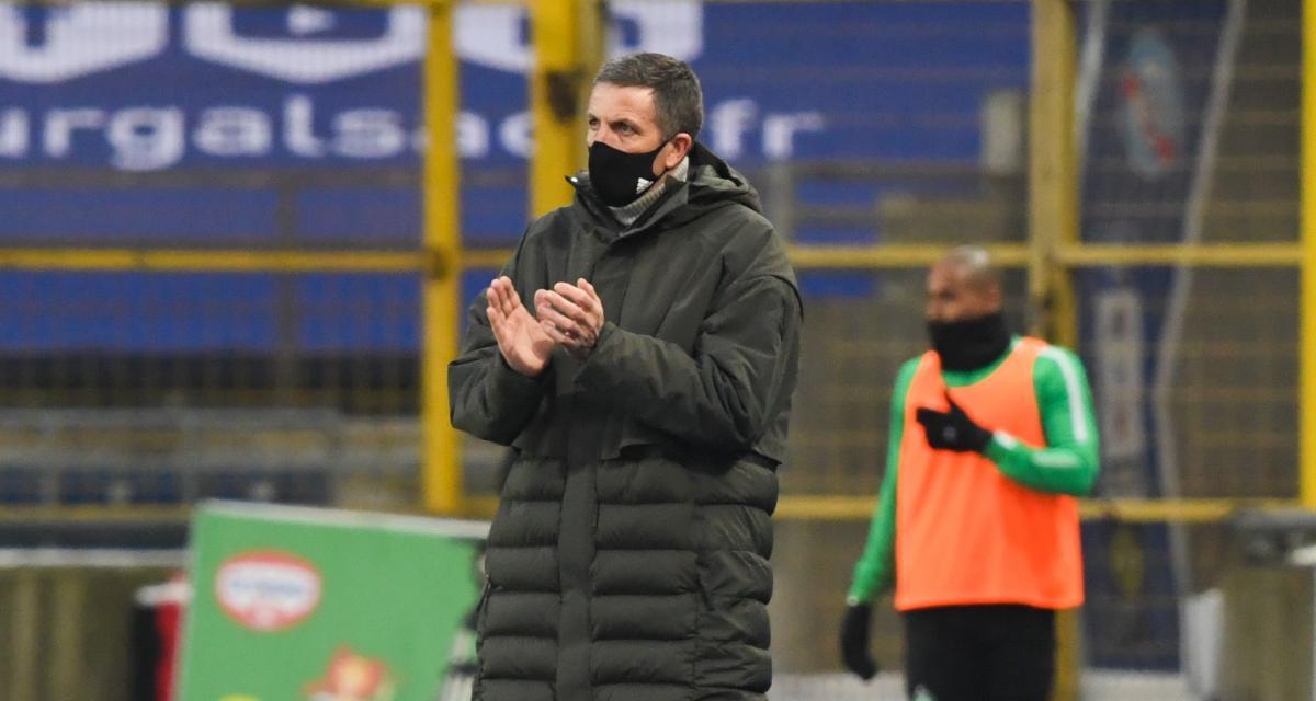 Dijon – RC Strasbourg (1-1) : Laurey lâche deux piques à Ajorque malgré son but