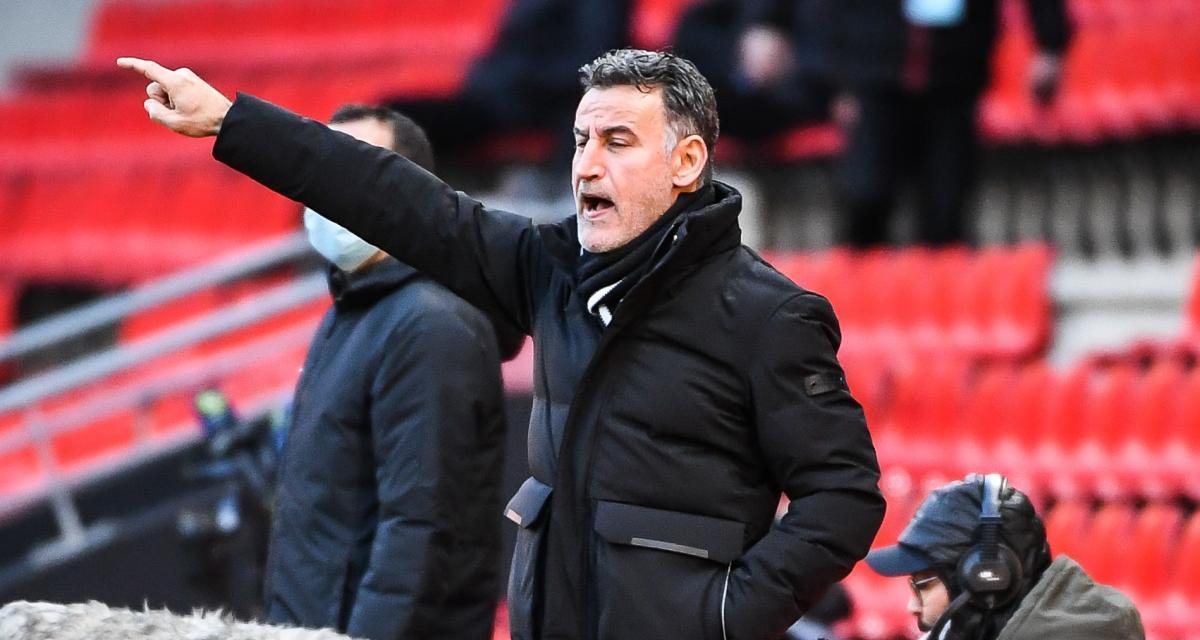 Stade Rennais - LOSC (0-1) : Galtier lance un nouvel objectif à ses joueurs