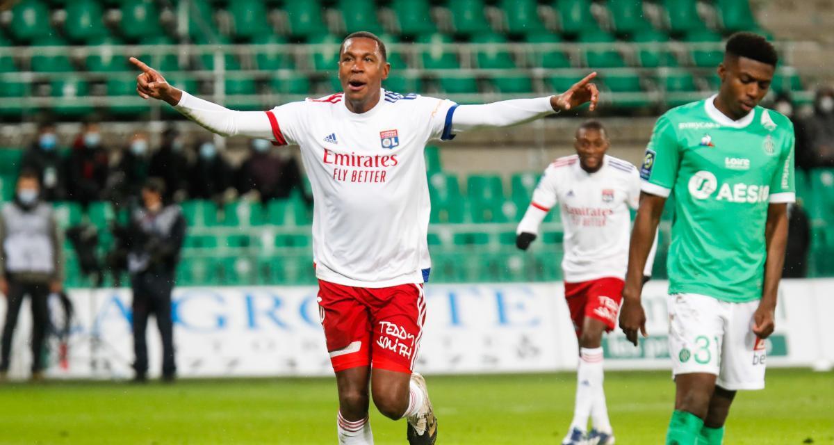 Résultat Ligue 1 : ASSE 0-5 OL (terminé)
