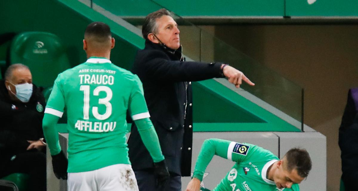 ASSE - OL (0-5) : les regrets de Puel concernant le derby… et Mohamed !