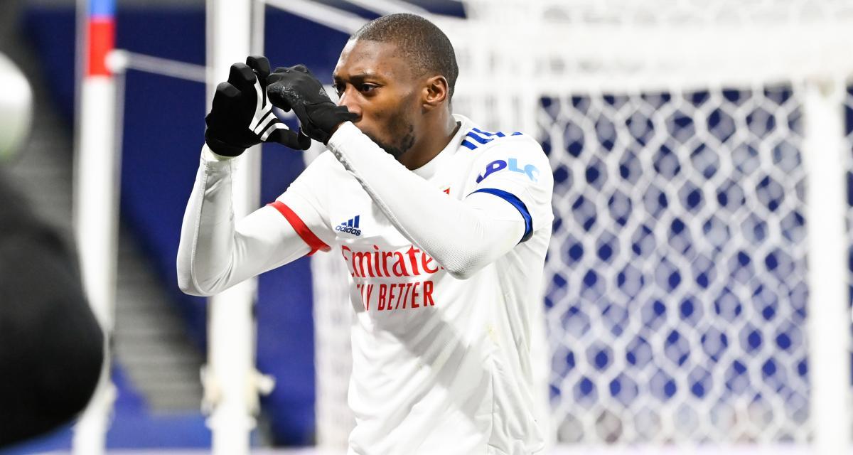 Résultat Ligue 1: OL 1-0 Bordeaux (mi-temps)