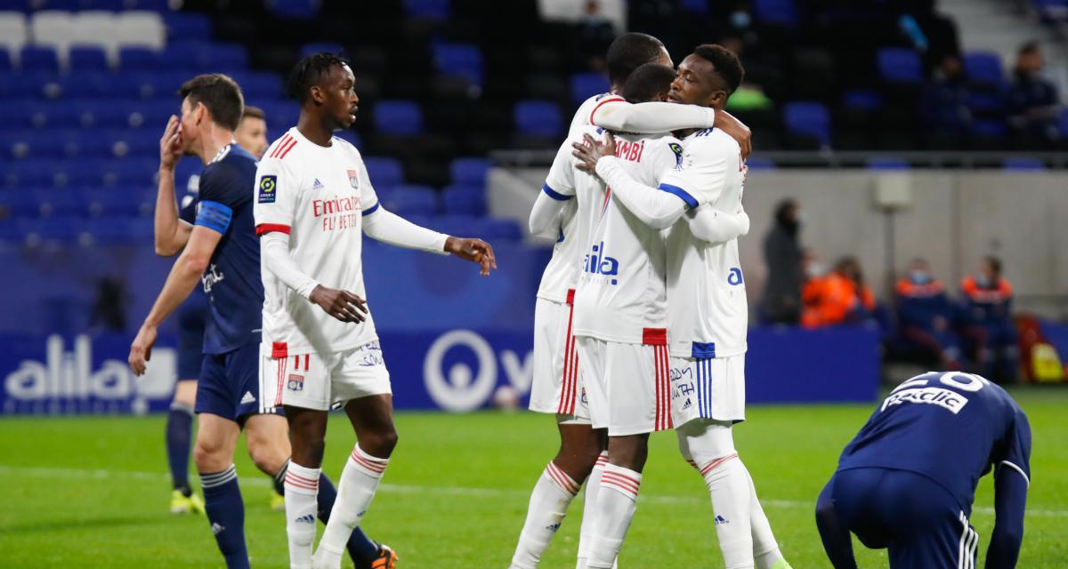 Résultat Ligue 1 : l'OL s'impose par miracle face à Bordeaux (2-1)