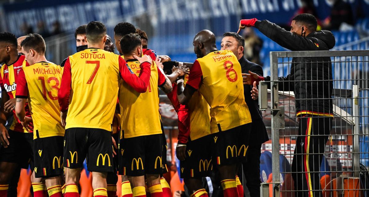 Résultat Ligue 1 : le RC Lens s'impose à Montpellier (2-1)