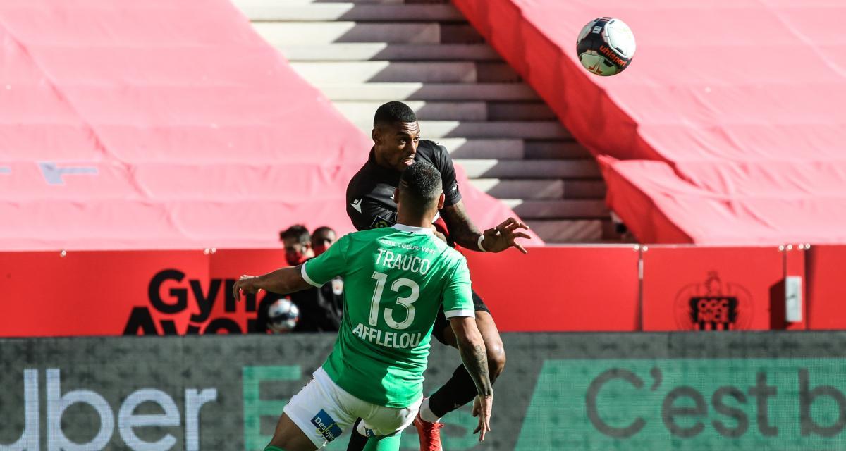 Résultat Ligue 1 : OGC Nice 0 - 1 ASSE (terminé)