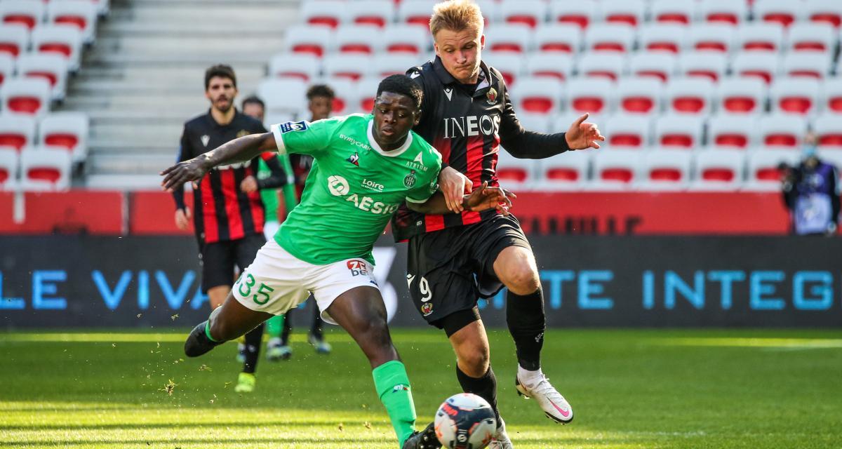OGC Nice – ASSE (0-1) : Abi en sauveur, les notes des Verts à Nice