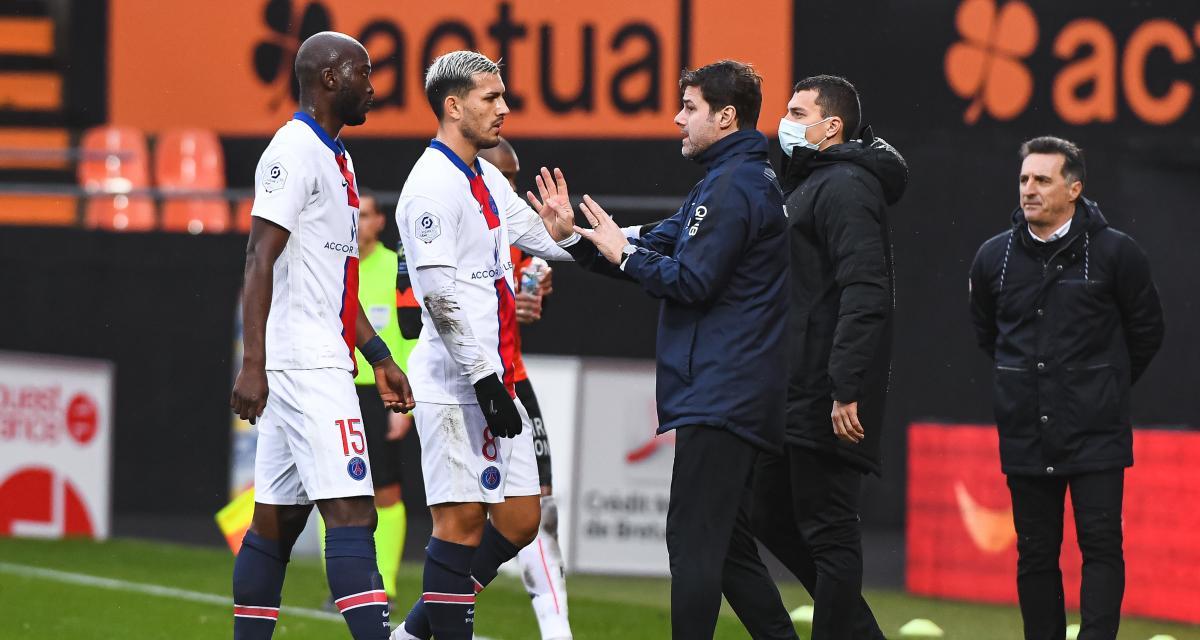 FC Lorient – PSG (3-2) : Pochettino dédouané, le responsable n°1 de la défaite au Moustoir identifié