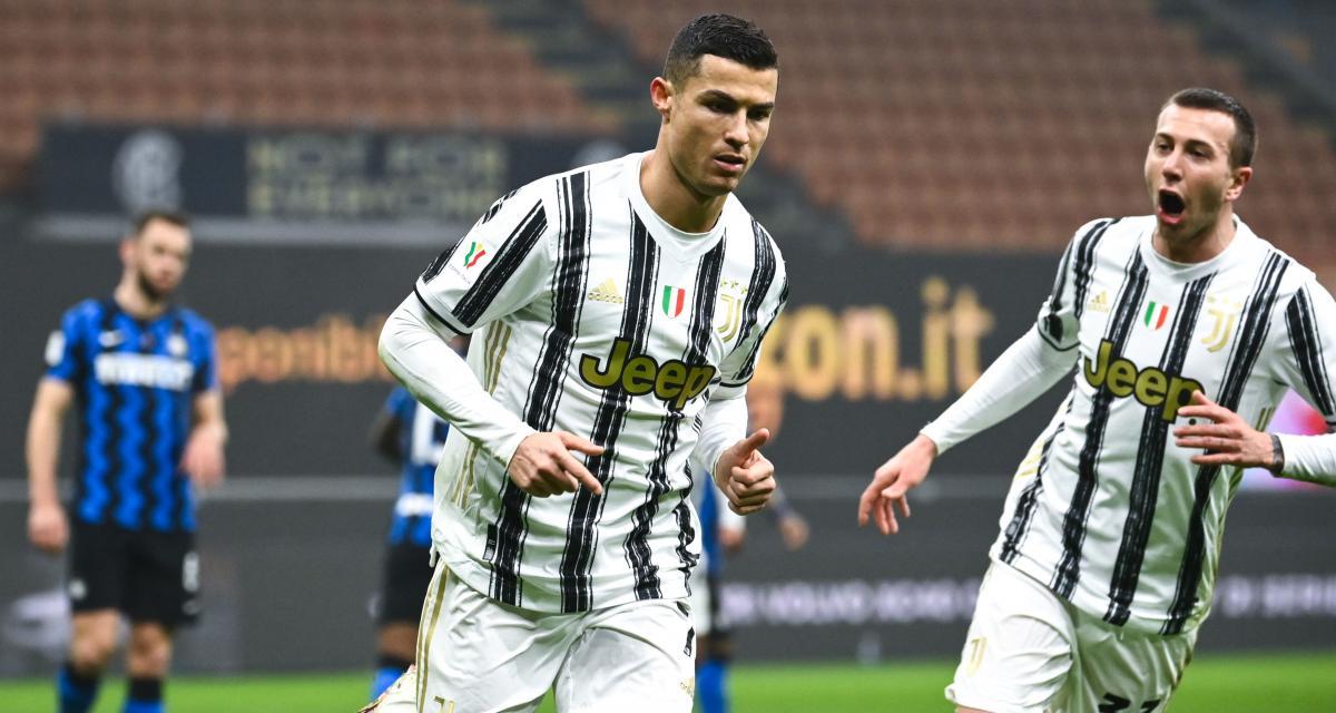 Inter Milan - Juventus (1-2) : énervé, Cristiano Ronaldo est à nouveau seul sur le toit du monde