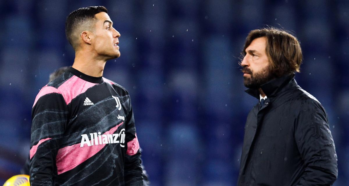 Juventus : Cristiano Ronaldo, une nouvelle récompense et un taquet de la part d'Andrea Pirlo