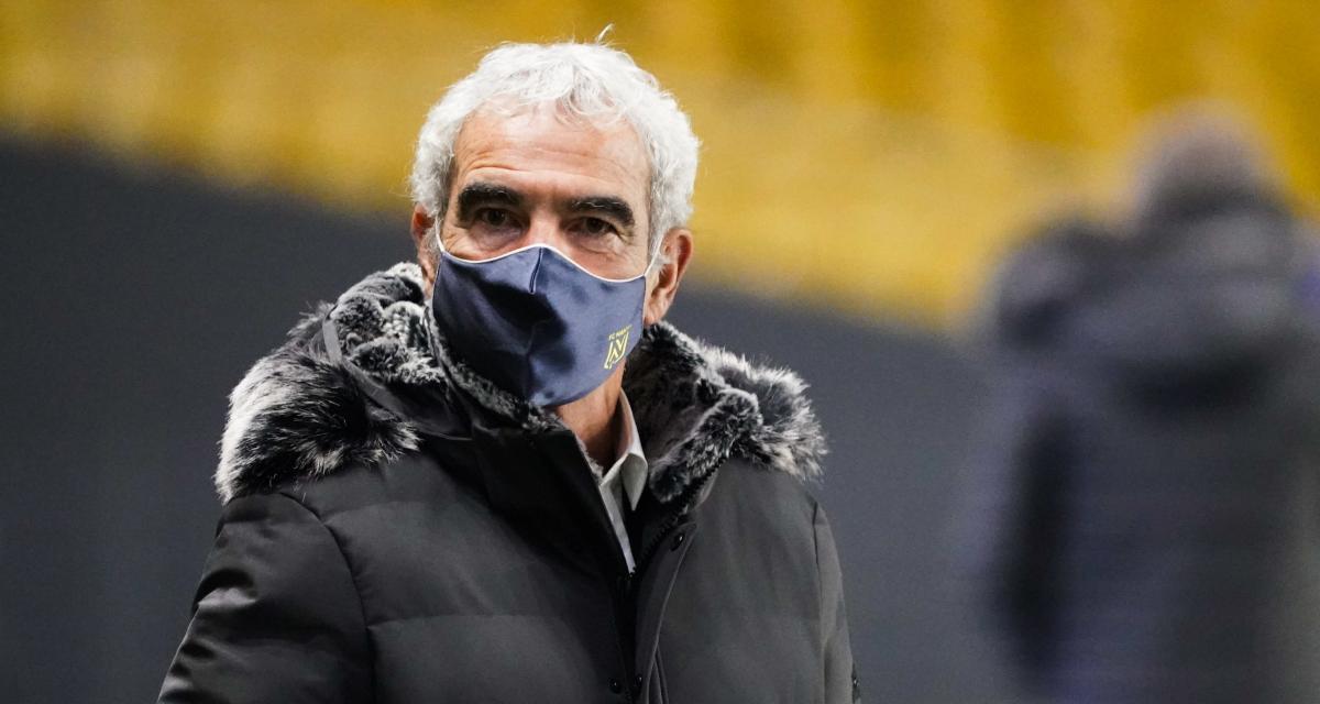 ASSE - FC Nantes : Domenech, aussi, a droit à sa banderole dans le chaudron