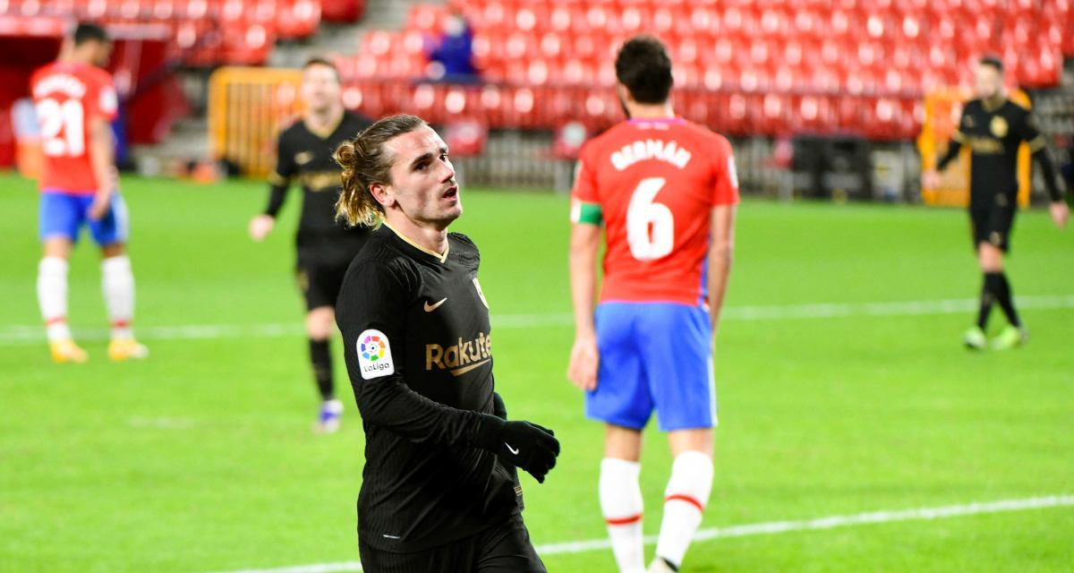 Grenade - FC Barcelone (3-5) : le festival Griezmann a éclipsé Messi