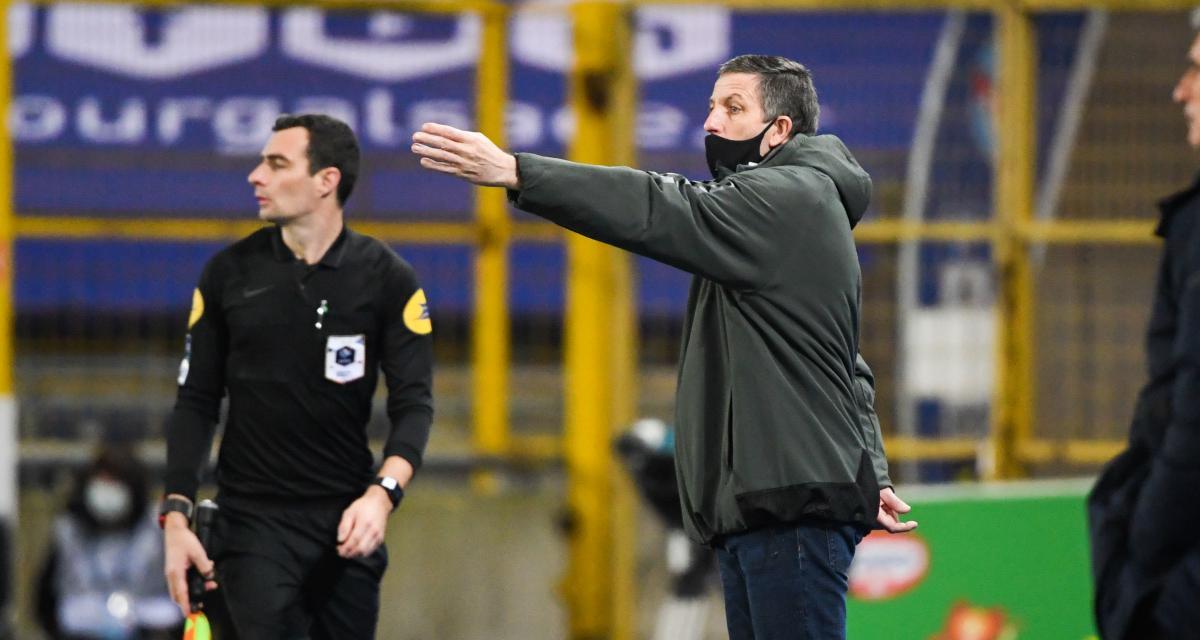 RC Strasbourg : Laurey est passé à deux doigts de craquer après Brest (2-2)