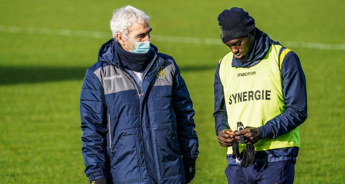 FC Nantes: Domenech forcé d'accélérer le come-back d'Augustin?