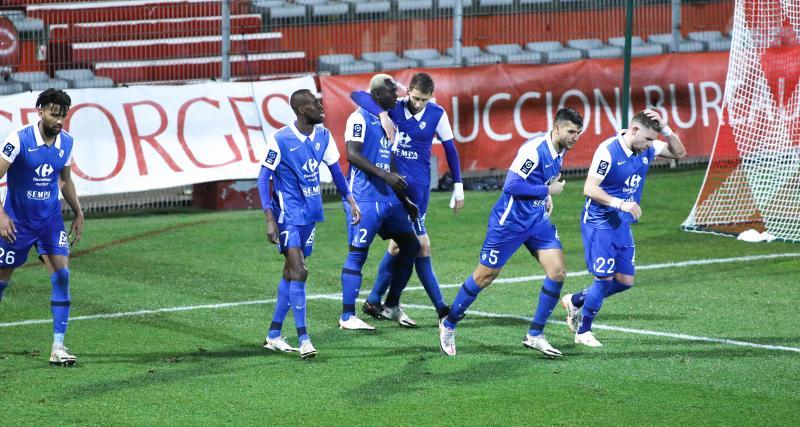 Résultats Ligue 2: Grenoble sur le podium, Nancy se donne de l'air