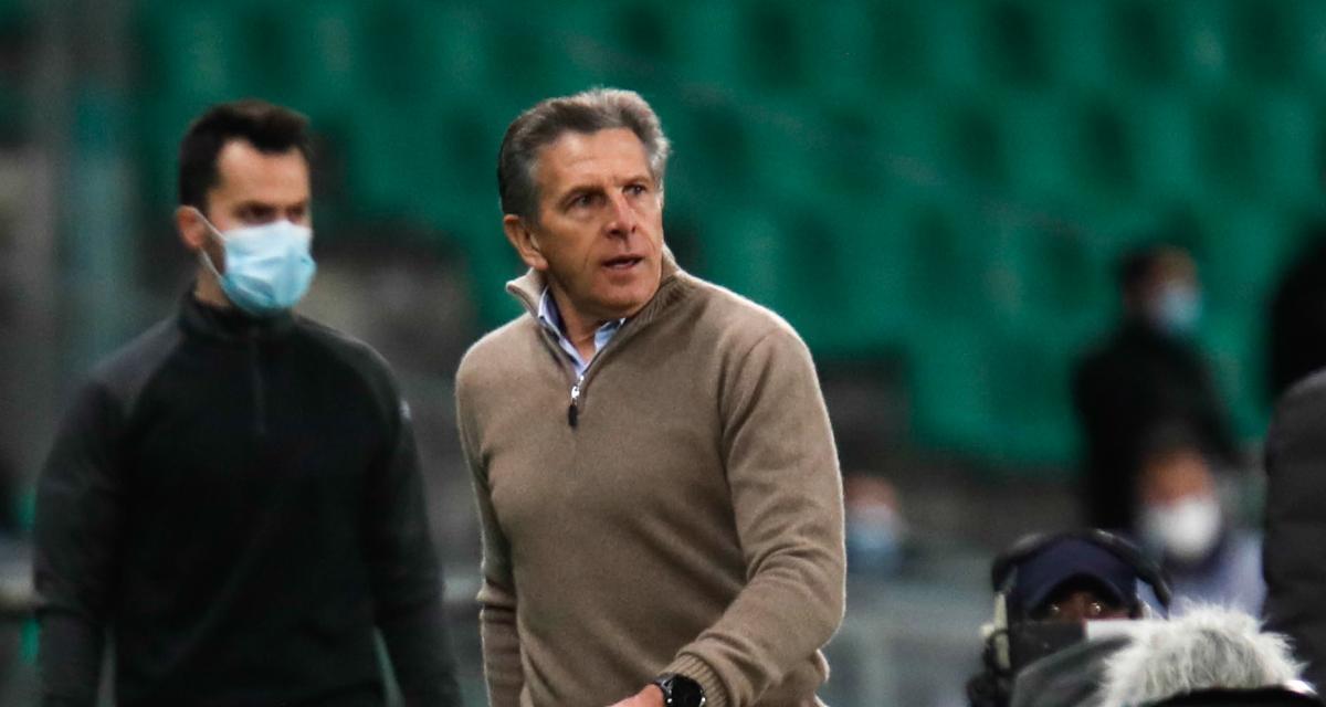 ASSE : grosse surprise dans le groupe de Claude Puel pour affronter le FC Metz