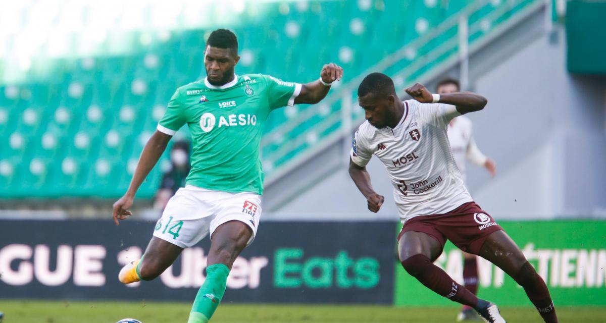 ASSE – FC Metz (1-0) : Hamouma, Cissé, Modeste... Les Tops et les Flops du court succès des Verts