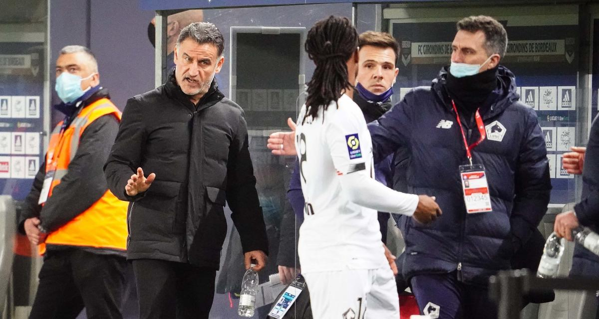 FC Nantes – LOSC (0-2) : Galtier révèle une franche explication avec Renato Sanches