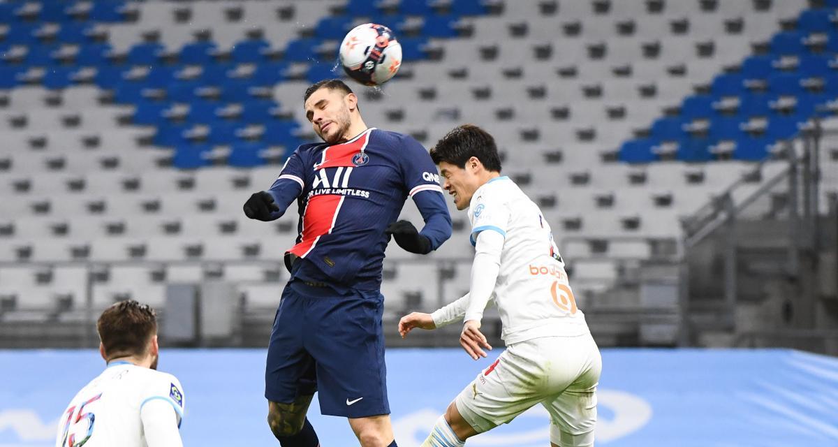 Résultat Ligue 1 : le PSG s'offre le 100e Classique face à l'OM (0-2)
