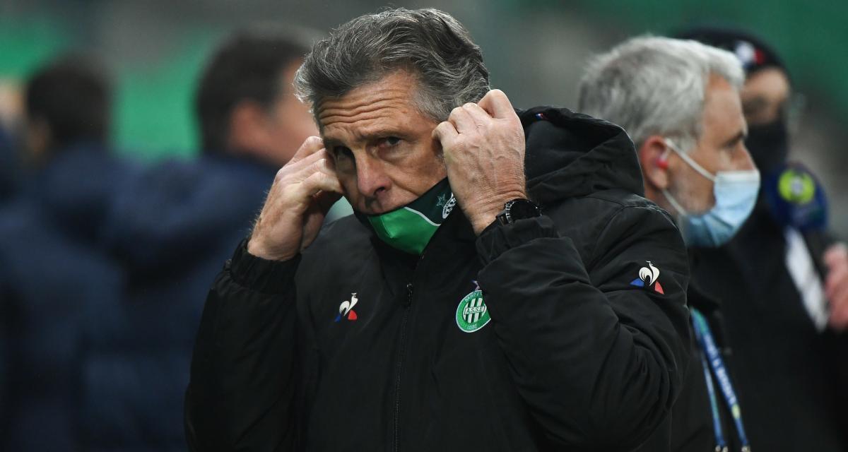 ASSE : Puel annonce plusieurs mauvaises nouvelles et une éclaircie pour Sochaux