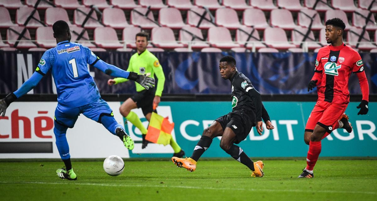 Résultat Coupe de France : DFCO 0-1 LOSC (mi-temps)