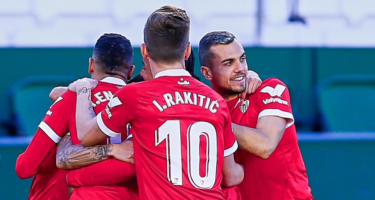 Résultat Coupe du Roi : FC Séville 1-0 FC Barcelone (mi-temps)