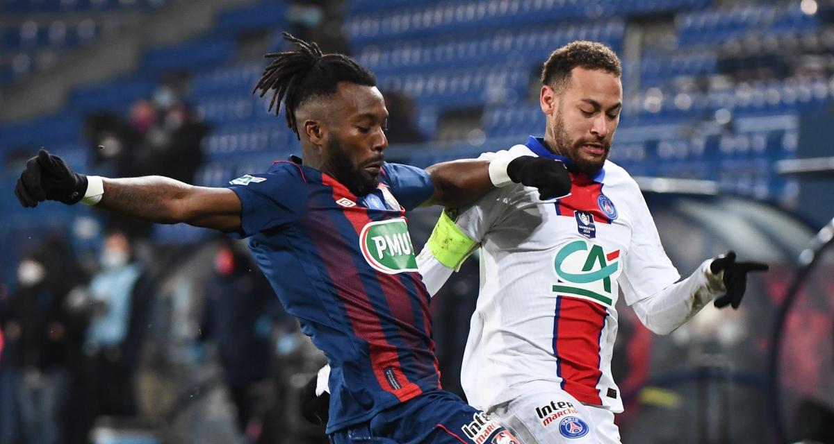 SM Caen - PSG (0-1) : Neymar est passé par tous les états