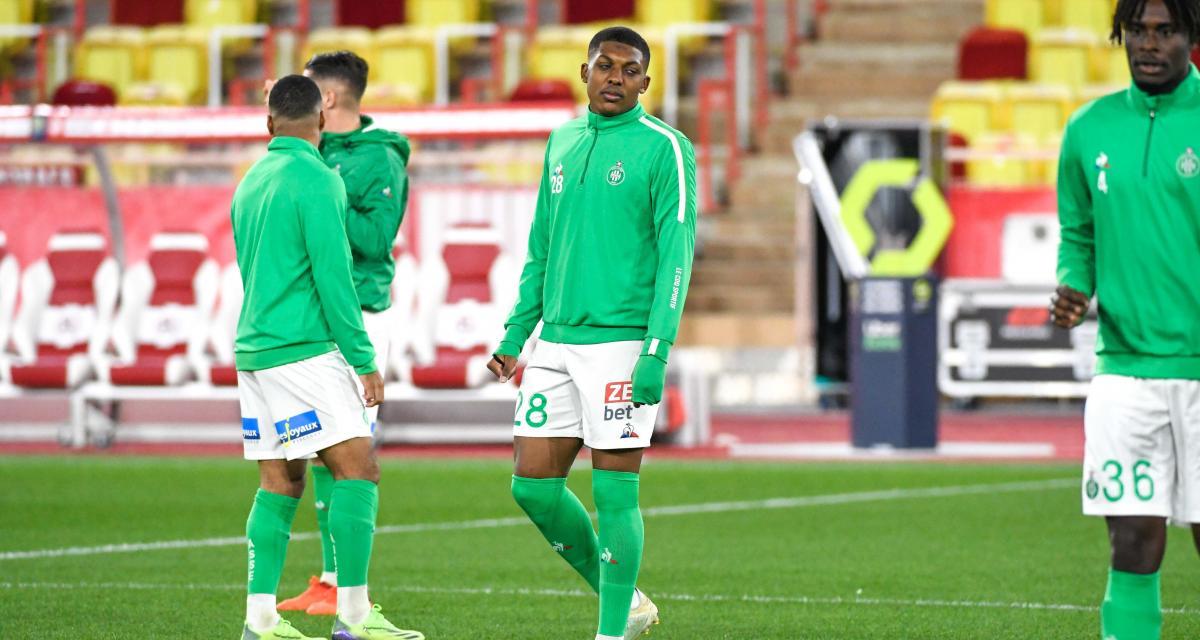 Résultat Coupe de France : les Verts, transparents, menés à la pause à Sochaux (0-1)