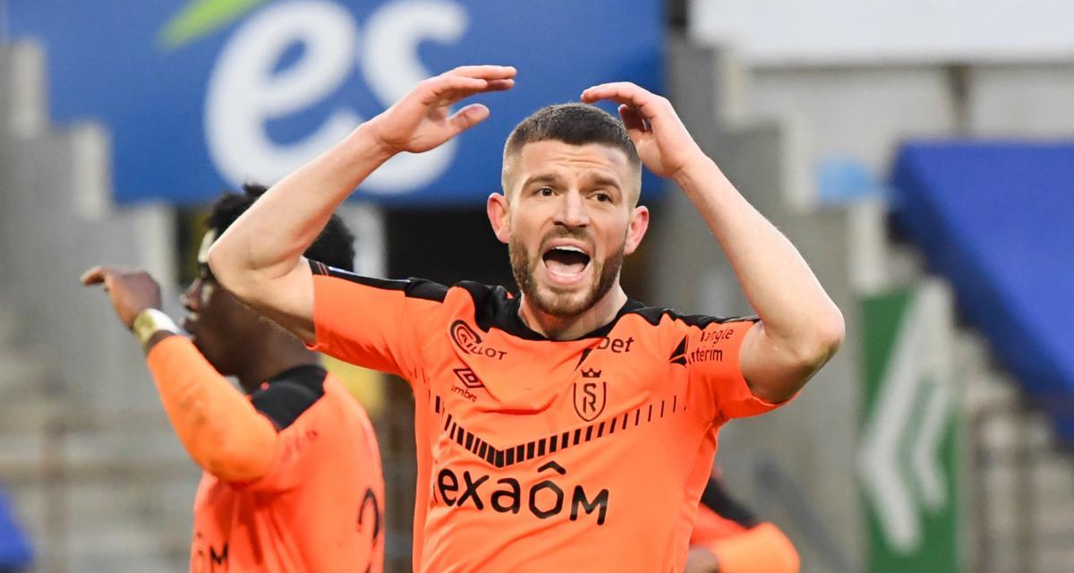 Stade de Reims : un malaise Berisha à l'heure affronter le RC Lens ?