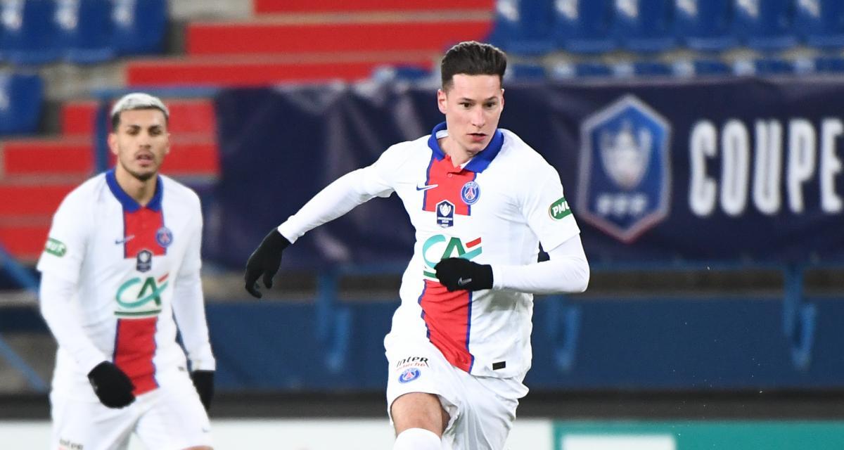 Résultat Ligue 1 : le PSG passe en tête face à Nice (1-0, mi-temps)